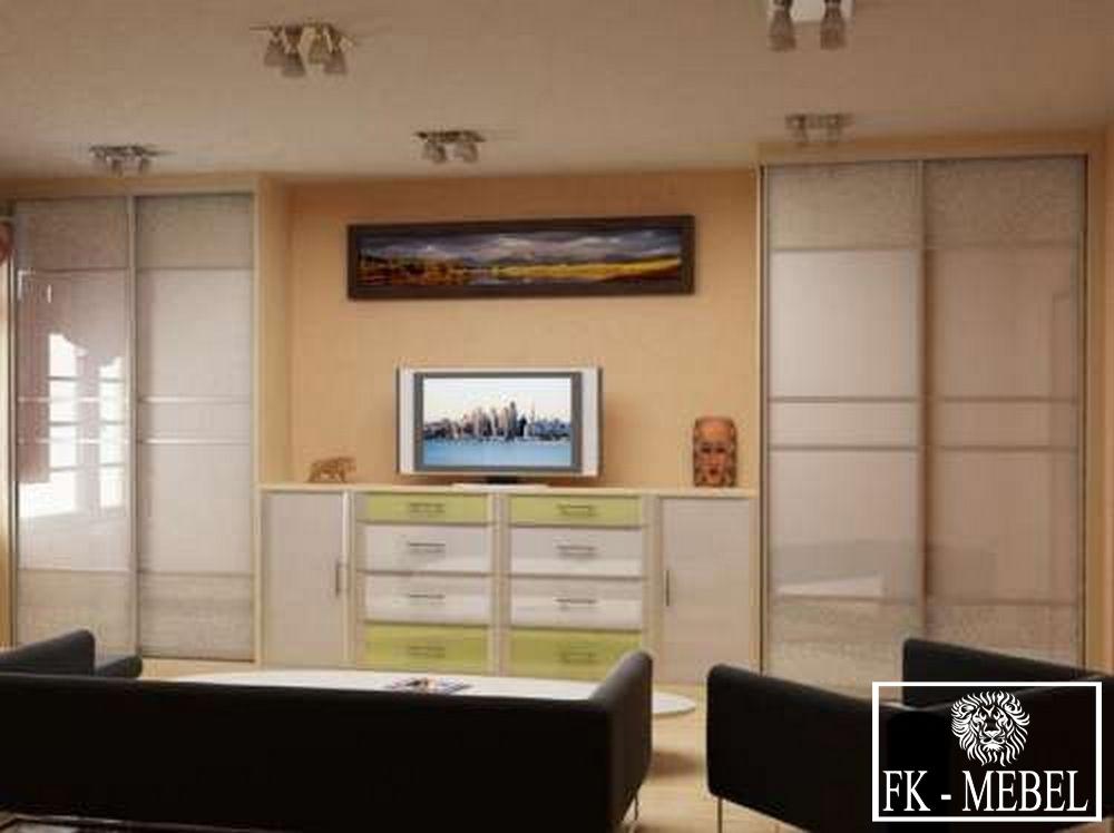Дизайн Гостиной Со Встроенными Шкафами В Москве