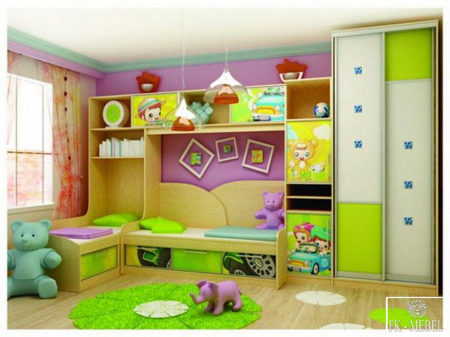 Шкафы купе в детскую